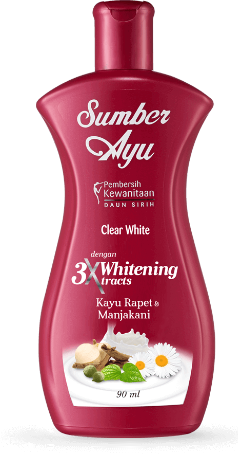 Clear White dengan Triple Whitening Extracts